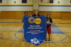 P.I.A.A. District # 1  Middle-School Sportsmanship Award