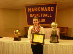 Markward Basketball Club Honoree  Denise Sacco